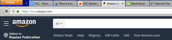 You can see favicon in browser tabs, toolbar, search bar